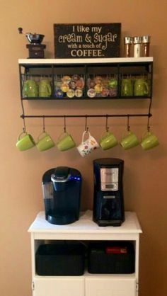 Coffee shelf idea