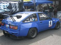 AE86 with the n2 kit