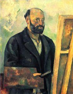 Self Portrait, ca. 1890 - Paul Cezanne