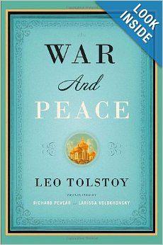 War and Peace (Vintage Classics): Leo Tolstoy, Richard Pevear, Larissa Volokhonsky: 9781400079988: Amazon.com: Books