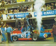 Henri Grandsire / Jean-Claude Andruet - Alpine A220/69 Renault - Société des Automobiles Alpine - XXXVII Grand Prix d´Endurance les 24 Heures du Mans 1969 -  International Championship for Makes, round 8 - Championnat de France des Circuits, round 40 - Challenge Mondial, round 4