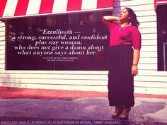 The emancipation of The Next Erzullie Icon 2013 (TNEI Top 3 Finalist , Timmy Mariano , from being ashamed of being plus size is. Plus Size Inspiration, Plus Size Girls, Plus Size Model, Plus Size Fashion, Fashion Models, Philippines, Outfits, Women, Suits