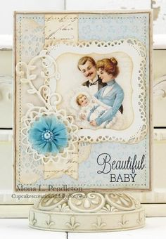 Beautiful BABY by Westies - Cards and Paper Crafts at Splitcoaststampers