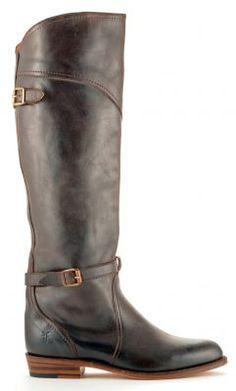 Womens Frye Dorado Riding Boots Brown #77561