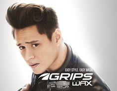 Enrique Gil Grips Hair Styling Endorser