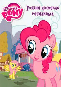 My Little Pony - Ponien riemukas puuhakirja - Nidottu, pehmeäkantinen (6411772482385) - Kirjat - CDON.COM 4,95