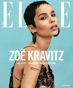 Zoë Kravitz Covers the January Issue of ELLE Magazine | Tom + Lorenzo