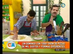Cocineros argentinos - 25-03-12 (1 de 6) Festival de pizzas Pizza Frita, Empanadas, Youtube, Favorite Recipes, Salads, Cooking Recipes, Desserts, Meals, Grilled Pizza