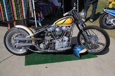 Panhead bobber by Salinas Boys Customs