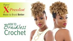 Watch this step-by-step tutorial on how to curl X-Pression Cuevana Twist using the hot water dipping method, and learn how to install the hair using a specia...