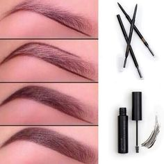 Moodstruck brow gel and precision brow liner Amazing gel adds fibers to your eyebrows to make them look so much fuller younique Makeup Eyebrow Filler
