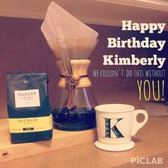 Happy Birthday to Kimberly - our official coffee taster at #LACoffeeClub - we couldnt do this without you!