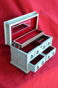 Antiqued Tudor Style Jewlery Box by HausArtisans on Etsy, $49.50