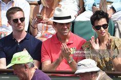 Mika with Andy and Farida Khelfa