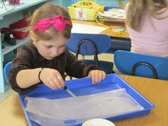 Playfully Learning: Learning Through Water Play-One Drop at a Time