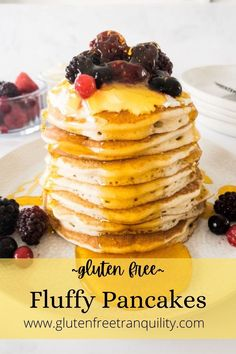 How to make the best gluten free pancake recipe. Easy to follow recipe with dairy free option. Homemade from scratch. Dairy free and gluten free. #glutenfree #homemadepancakes #easyglutenfree Dairy Free Breakfasts, Gluten Free Recipes For Breakfast, Healthy Breakfast Smoothies, Healthy Muffins, Gluten Free Waffles, Gluten Free Baking, Breakfast Ideas, Glutenfree, Free Food