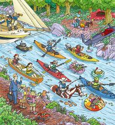 (2014-07) Hvad laver de på floden?