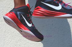 scarpe da basket migliori Nike Hyperdunk 2014 Obsidian/Rosso università/Bianco 653640-416
