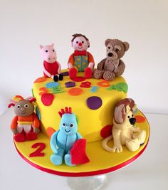 Number 2 cake Mr tumble Amazing Cakes II Pinterest