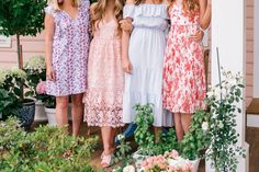Club Monaco always has the very best dresses!! // Easter Brunch on the Porch- Gal Meets Glam