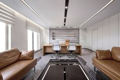 10 Office Decor Ideas to Look Professionaly Office Cabin Design, Cabin Interior Design, Interior Design Gallery, Interior Design Themes, Corporate Office Design, Ceo Office, Luxury Office, Cabin Interiors, Office Interiors