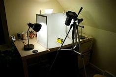 I read a great (as always) post on Strobist about  building your own softbox  for less than 10 bucks, and I was instantly intrigued. A softbox is used for taking those nice product photos you see on...