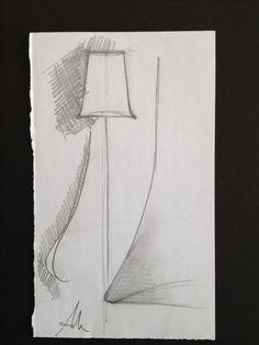 Sketch for CLOCHE head diffuser