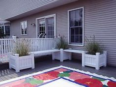 Make Your Own Floorcloth : Decorating : Home & Garden Television