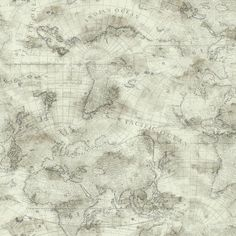 Sample Coastal Map Wallpaper in Beige design by York Wallcoverings (€8,96) ❤ liked on Polyvore featuring home, home decor, wallpaper, backgrounds, wallpaper samples, beige wallpaper, map home decor, cream wallpaper, map wallpaper and coastal home decor