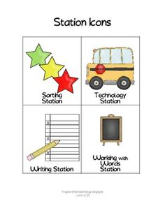 COMPLETE first grade Literacy Stations rotation 2