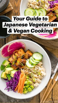 Brunch, Tasty Vegetarian Recipes, Healthy Recipes, Asian Recipes, Healthy Japanese Recipes, Clean Eating, Healthy Eating, Asian Cooking, Oriental