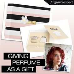 Picking perfume as a gift for someone else can be really quite difficult.   Guest Blogger Laura from A Daisy Chain Dream gives us some advice on giving fragrances as gifts - http://www.fragranceexpert.com/blog/2014/03/perfume-as-a-gift/