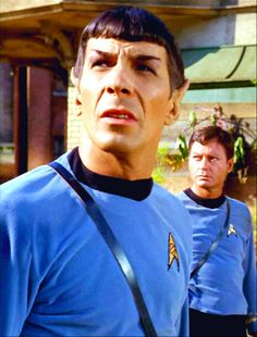 """Sometimes I think Spock just looks around and wonders """"What fresh hell is this, puny humans?"""""""