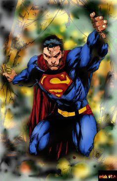 ed benes deviantart | Superman ed benes color by ~Mich974 on deviantART