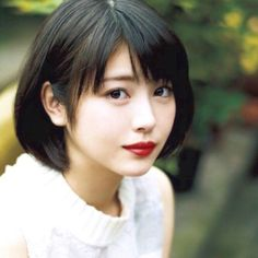 Beautiful Japanese Girl, Japanese Beauty, Beautiful Asian Girls, Asian Beauty, Asian Short Hair, Girl Short Hair, Short Hairstyles For Women, Girl Hairstyles, Hot Images Of Actress