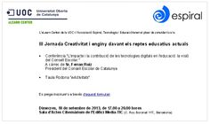 III Jornada Creatividad e ingenio - 2013