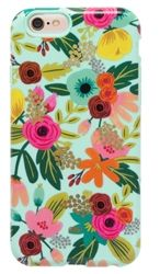 Rifle Paper Co. Mint Floral iPhone 6/6S cases at Northlight.  Designed by Anna Bond