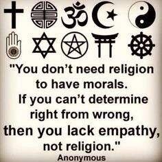 #Religión #Empatía #Tolerancia #Respeto