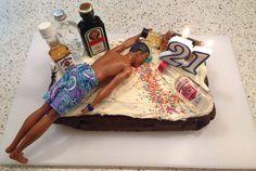 super Ideas birthday cake for boyfriend Birthday Cakes For Men, 21st Birthday Gifts For Guys, Boyfriends 21st Birthday, Birthday Cake For Boyfriend, 21st Bday Ideas, Funny Birthday Cakes, 21st Birthday Decorations, Funny Cake, Birthday Cake Smash