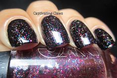 Captivating Claws: NYC Big City Dazzle and Matte Me Crazy Topcoat