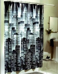 Black Ombre Concrete Texture Shower Curtain By Cafelab See More I Use One Of These For Backdrop My Model Train Layout