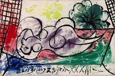 Pablo Picasso, Femme Endormie, 1933