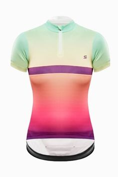 38582f3f2 Svelte Women s Sunset Continental Jersey
