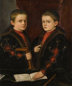 Titian - two boys, Old Masters Evening Sale | Sotheby's