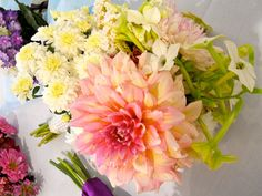 Bride's bouquet by Kathy Mereand, via Flickr