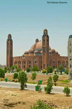 Grand mosque Bahria town Lahore Punjab Pakistan