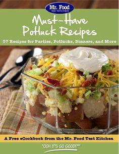 FREE e-Cookbook: 37 Must-Have Potluck Recipes