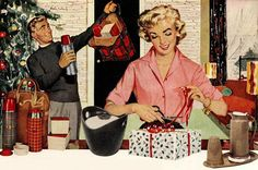 Make it a very Thermos Christmas, 1957.