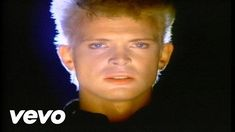 "Official video of Billy Idol performing Eyes Without A Face from the album Rebel Yell.  Reportedly filmed in a marathon 30-hour session, the video was released in June 1984 and subsequently nominated for MTV Video Music Awards for ""Best Editing"" and ""Best Cinematography"""