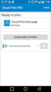Cloud Print plus– уменьшенный скриншот